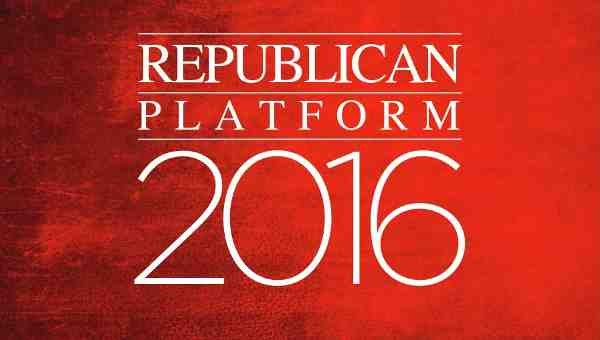 Republican Party Platform