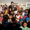 Ewan McGregor Visits Displaced Children in Iraq