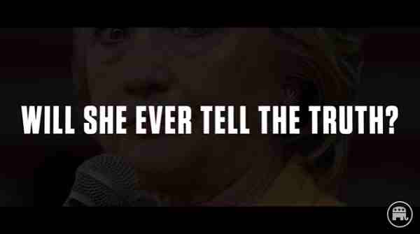New Hillary Clinton Video: Caught Lying Again