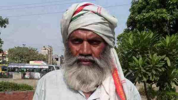 A Poor Jobless Man in India. Photo: Rakesh Raman