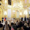 Russia Honors Gold Medal Winners of 2016 Olympics