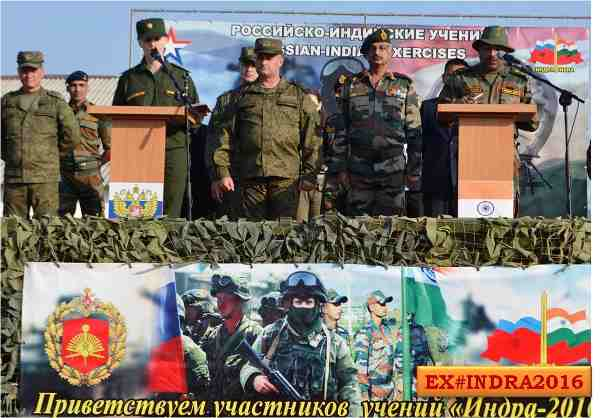 India-Russia Joint Military Exercise to Fight Terrorism
