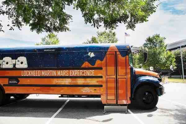 Travel to Mars on the Lockheed Martin Bus