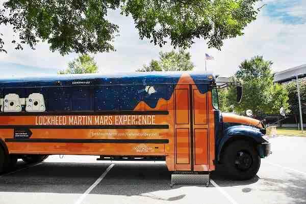 Travel to Mars on the Lockheed Martin Bus