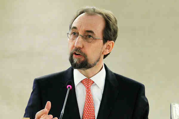 Zeid Ra'ad Al Hussein, UN High Commissioner for Human Rights. UN Photo/Pierre Albouy