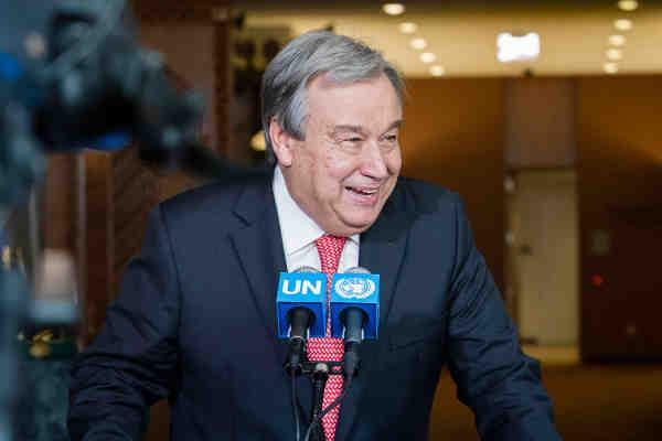 António Guterres of Portugal. UN Photo/Manuel Elias