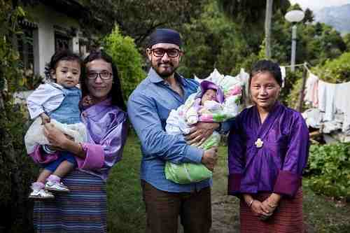 Aamir Khan Meets Malnourished Children in Bhutan