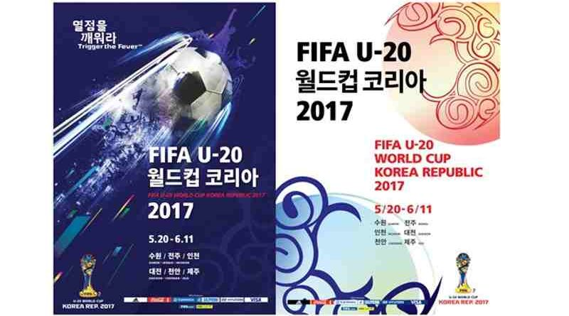 FIFA U-20 World Cup Korea Republic 2017 Posters