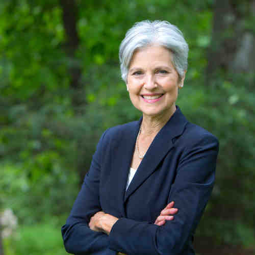 Former Green Party Presidential nominee Jill Stein