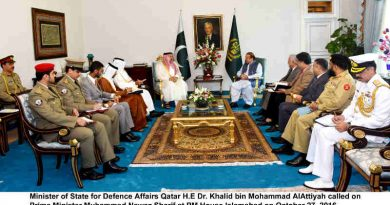 Pakistan to Help Qatar Fight Terrorism