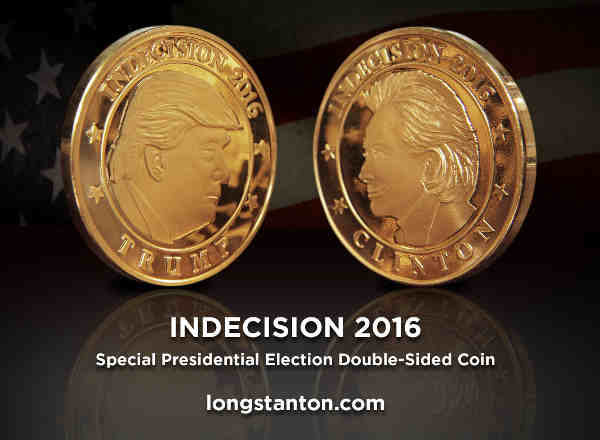 Trump-Clinton Campaign Coin