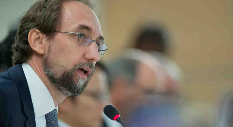 Zeid Ra'ad Al Hussein, UN High Commissioner for Human Rights. UN Photo/Jean-Marc Ferré