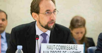 High Commissioner for Human Rights Zeid Ra'ad Al Hussein. UN Photo/Pierre Albouy