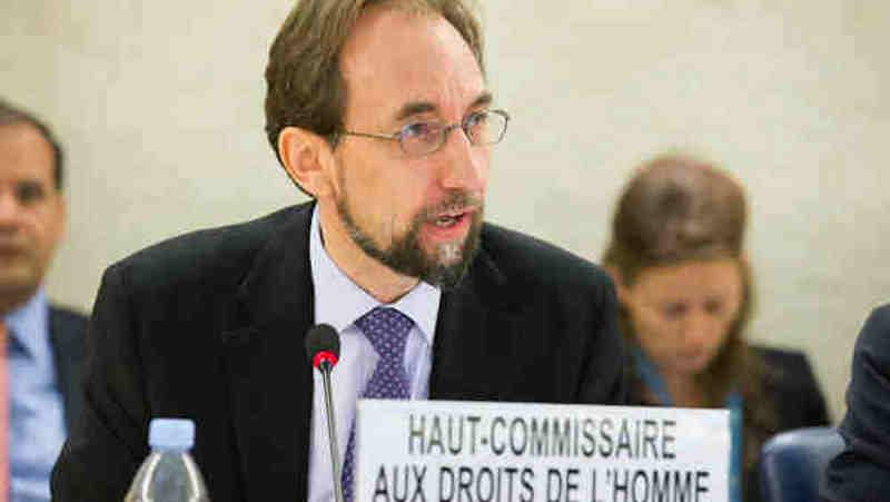 High Commissioner for Human Rights Zeid Ra'ad Al Hussein. UN Photo/Pierre Albouy