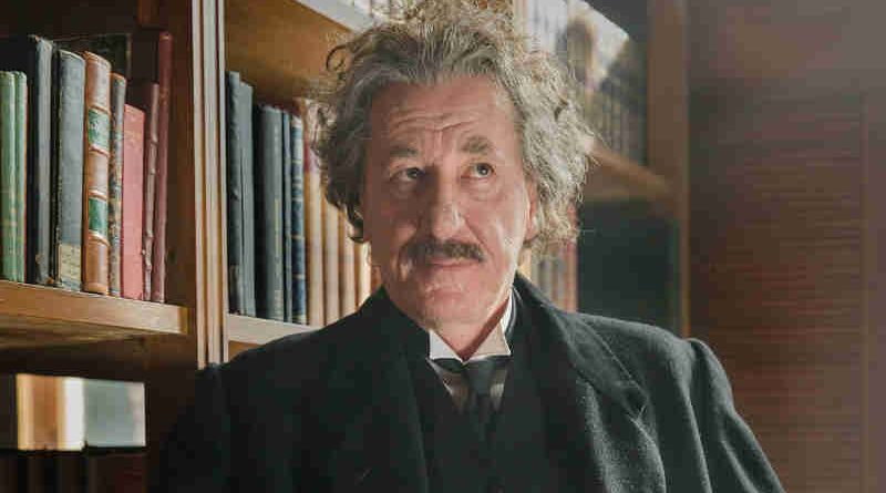 Geoffrey Rush as Albert Einstein in National Geographic's 'Genius'. (Photo credit: National Geographic / Dusan Martincek)
