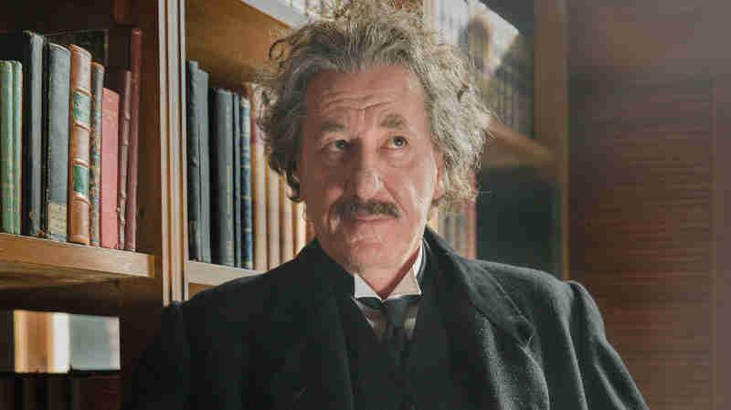 Geoffrey Rush as Albert Einstein in National Geographic's 'Genius'. (Photo credit: National Geographic / Dusan Martincek)