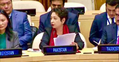 Ambassador Maleeha Lodhi, Pakistan's permanent representative to the UN