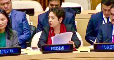 Ambassador Maleeha Lodhi, Pakistan's permanent representative to the UN