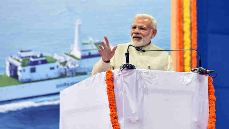 Narendra Modi (file photo). Courtesy: PIB