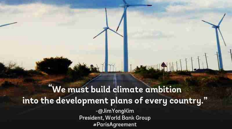 Paris Agreement to Drive Climate-Smart Policy Action