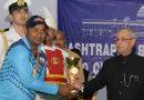 T-20 Cricket: Pranab Mukherjee Presents Prizes to Participants