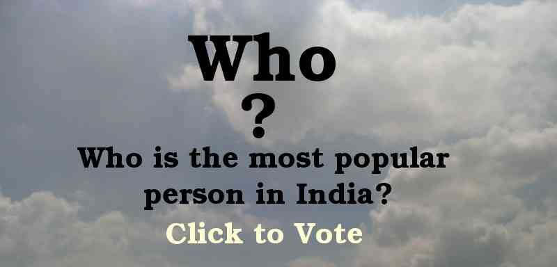 RMN Poll: Who Is the Most Popular Person in India?