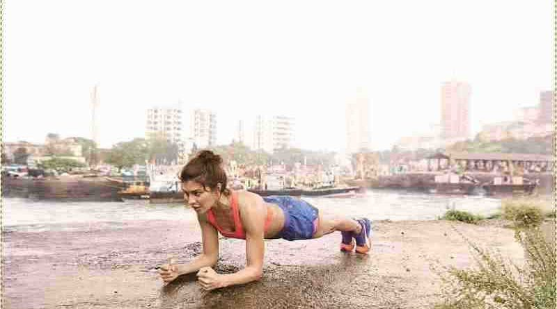 Jacqueline Fernandes prepares to join the Puma - Do You Movement on 6th November