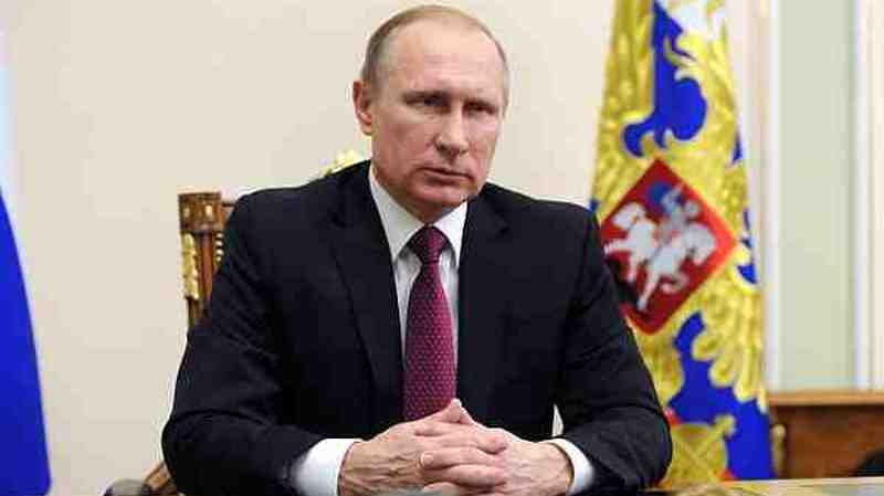 President of Russia Vladimir Putin. Photo courtesy: Kremlin