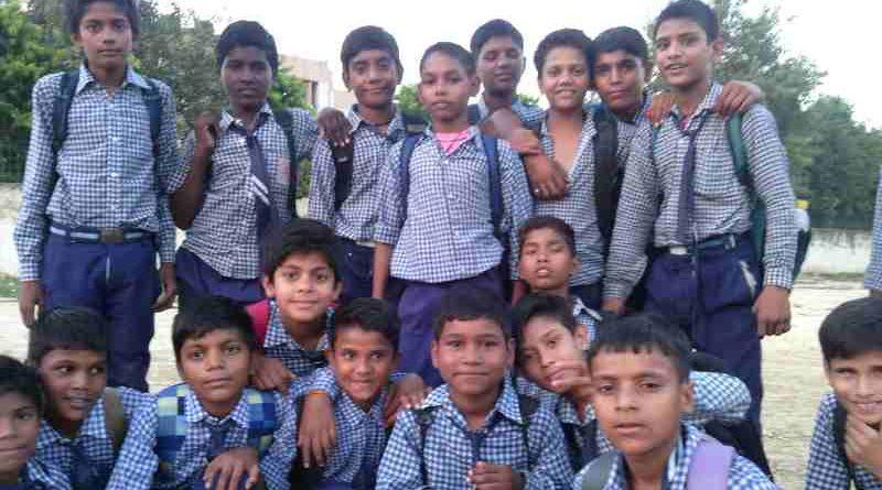 School Children of a School in New Delhi. Photo by Rakesh Raman