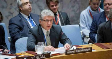 Assistant Secretary-General for Political Affairs Miroslav Jenca addresses the Security Council meeting on Cooperation between the United Nations and Regional Organizations. UN Photo / Rick Bajornas