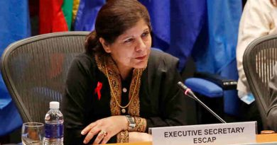 Executive Secretary of the UN Economic and Social Commission for Asia and the Pacific (ESCAP) Shamshad Akhtar. Photo: ESCAP