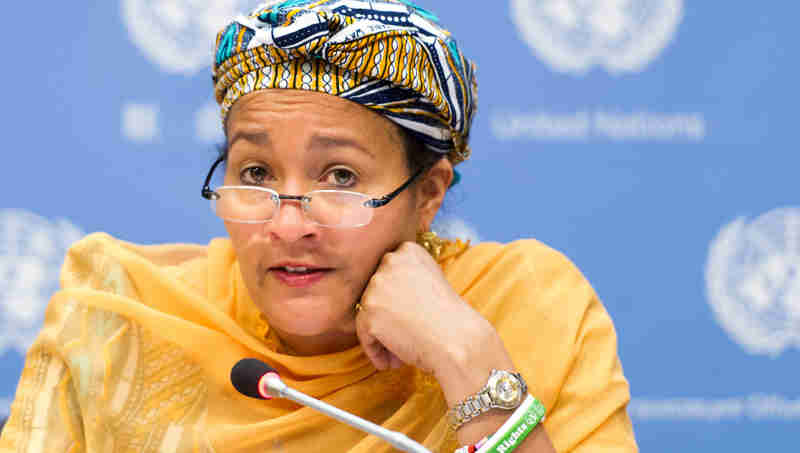 Amina J. Mohammed of Nigeria. UN Photo / Mark Garten