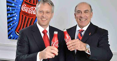 James Quincey wit Muhtar Kent. Photo: Coca-Cola