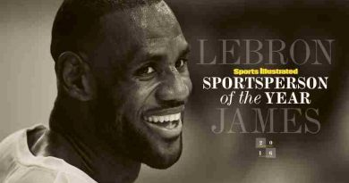 LeBron James: Sports Illustrated Sportsperson of the Year