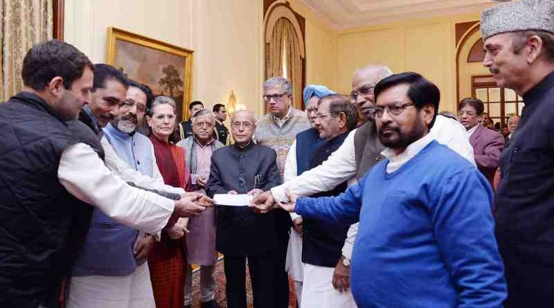 Opposition Parties in India Meeting the President on December 16, 2016