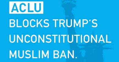 Court Blocks President Trump's Muslim Ban Order