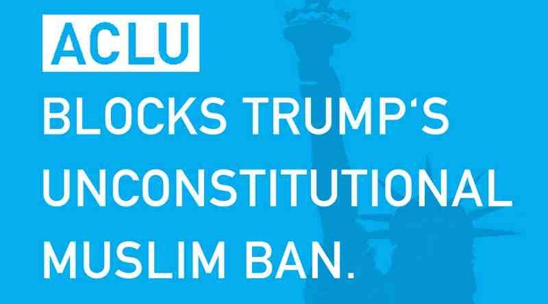 Court Blocks President Trump's Muslim Ban Order