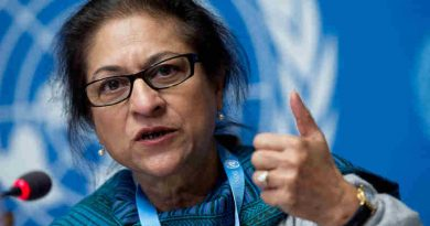 Special Rapporteur on the human rights situation in Iran Asma Jahangir. UN Photo / Jean-Marc Ferré