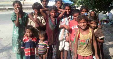 Poor Children in India. Photo: Rakesh Raman