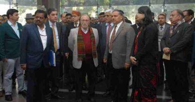 Anil Baijal Visiting DDA Nagrik Suvidha Kendra