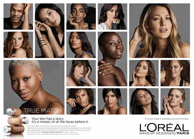 L'Oréal Paris Debuts True Match Campaign: Your Skin, Your Story