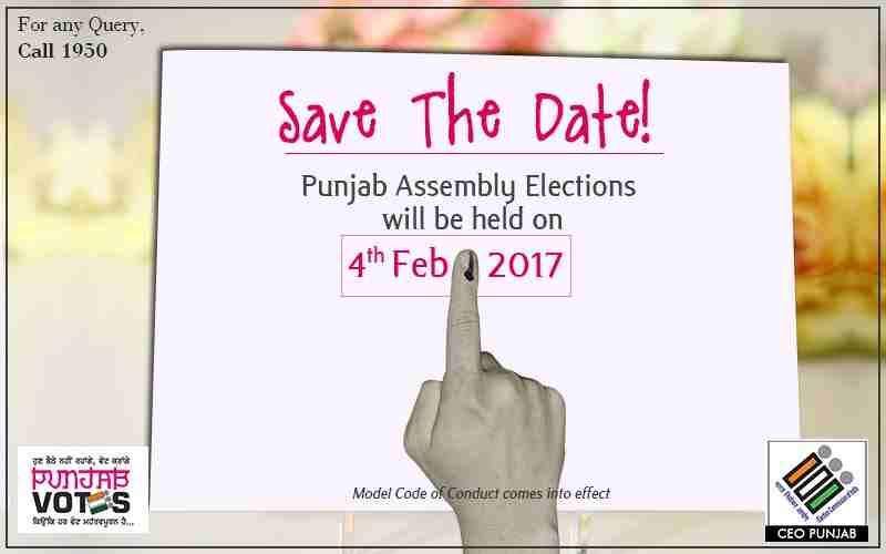 Punjab Election Date