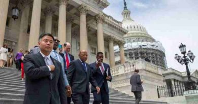 Congressman Lieu joins civil rights leader Congressman John Lewis and House Democrats during the House Democrats Sit-In on Gun Control. (Representational image)