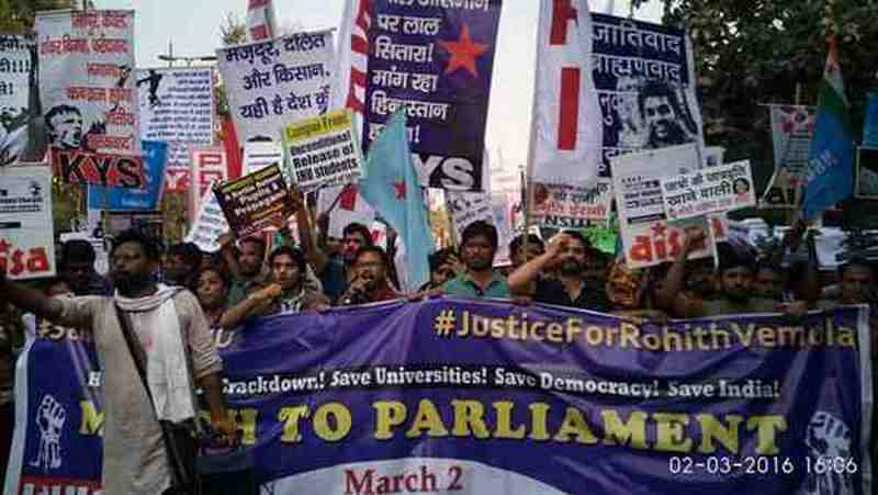 Regular Student Protests in India