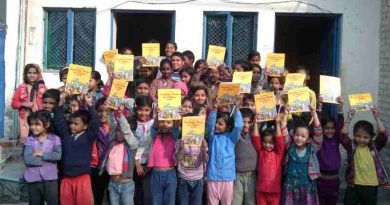 RMN Foundation Free School for Deserving Children in New Delhi, India. Photo: Rakesh Raman