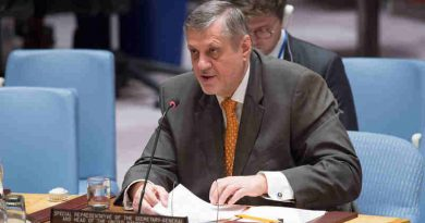 Ján Kubiš, Special Representative for Iraq and Head of the United Nations Assistance Mission for Iraq (UNAMI), addresses the Security Council meeting on the situation concerning Iraq. UN Photo / Eskinder Debebe