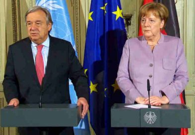 UN Chief Hails German Policy for the Protection of Refugees