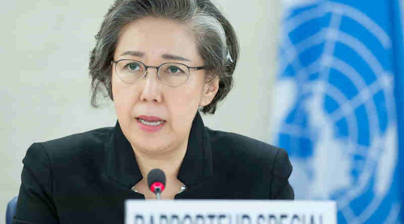 Special Rapporteur on the human rights situation in Myanmar Yanghee Lee. UN Photo/Jean-Marc Ferré