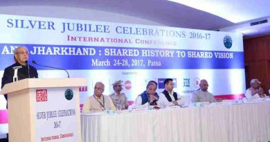 "President Mukherjee inaugurated a Conference on ""Bihar and Jharkhand: Shared History to Shared Vision"" in Patna on March 24, 2017"