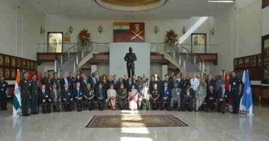Military and Police Officers Attend Course on Peace and Security in India